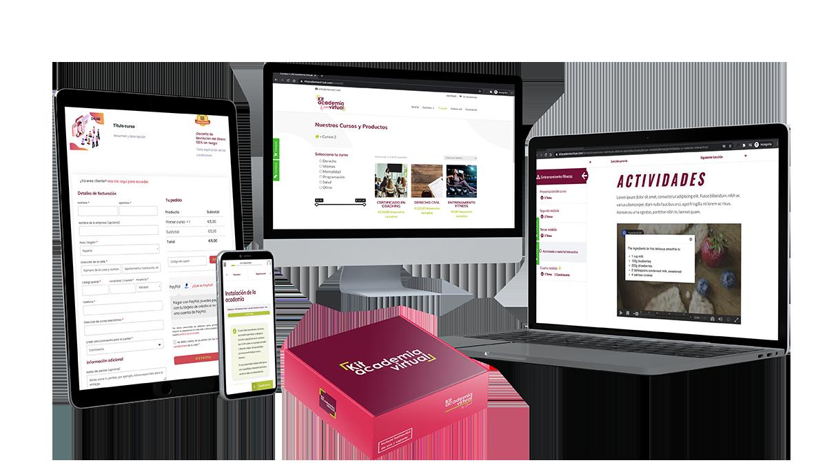 Kit Academia Virtual