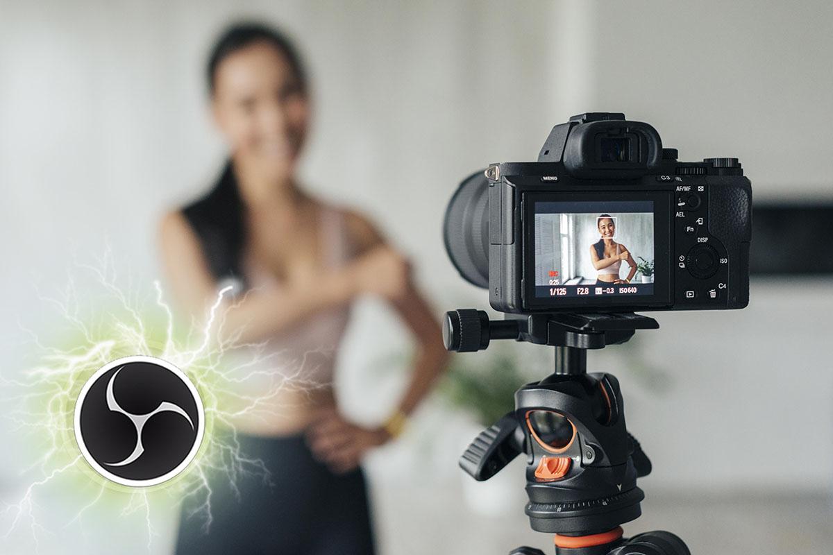 Usar cámaras externas con OBS