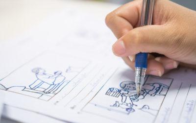 Creación y usos de guiones gráficos o storyboards para E- learning