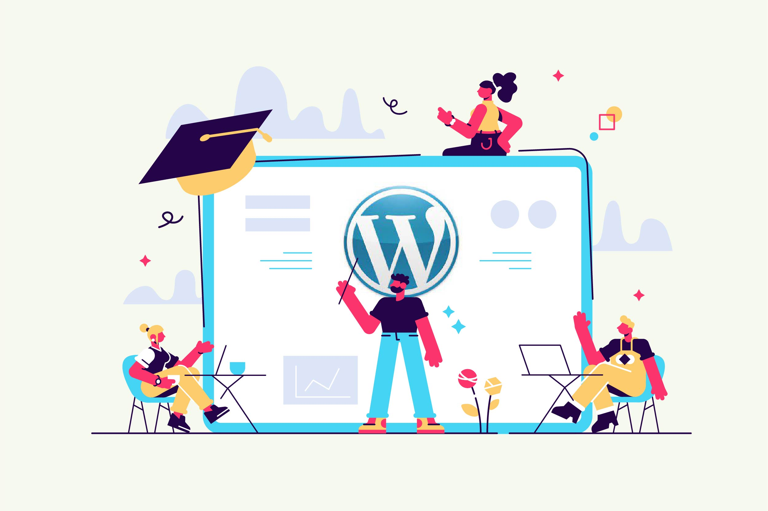 Cómo crear una academia virtual con WordPress